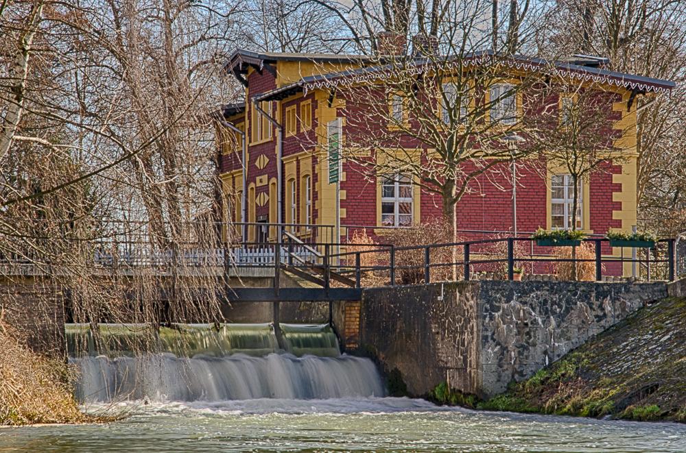 Mühlenwehr in Burg / Spreewald