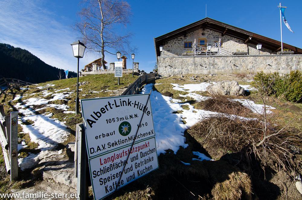 Albert Link Hütte / Valepp