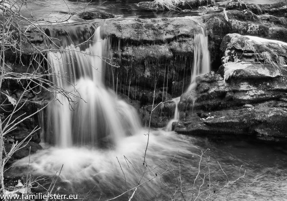 Kleiner Wasserfall / Valepp