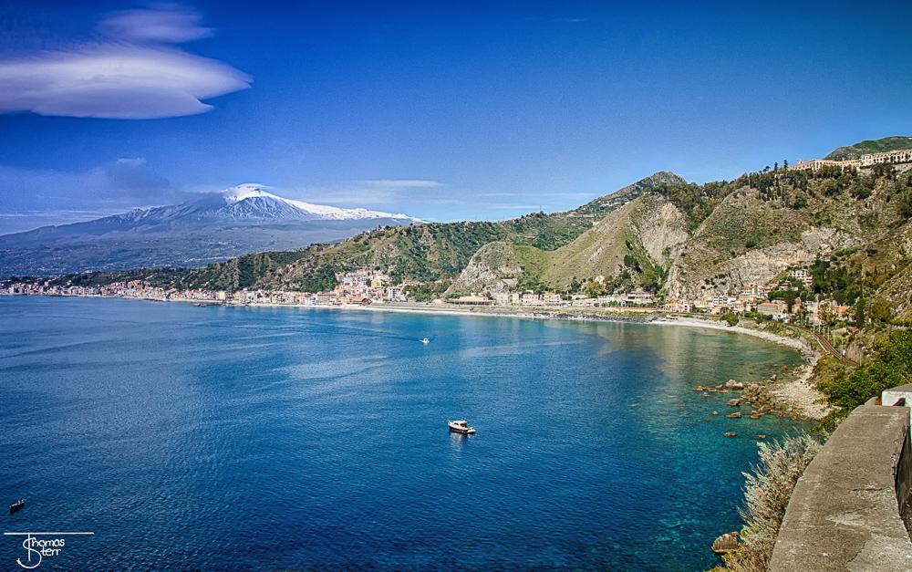 Bucht Giradini-Naxos - Taormina