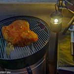 Beef Brisket - Rinderbrust am Anfang der Versmokerung