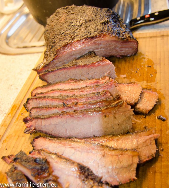 Beef Brisket aus dem WSM