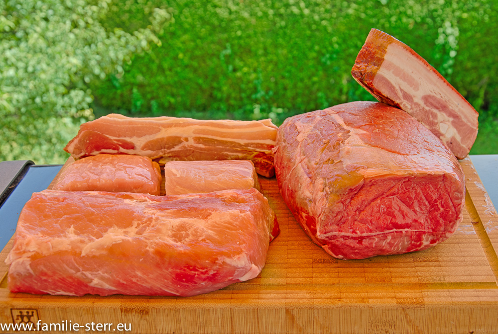 Fleisch für das Dopfgulasch