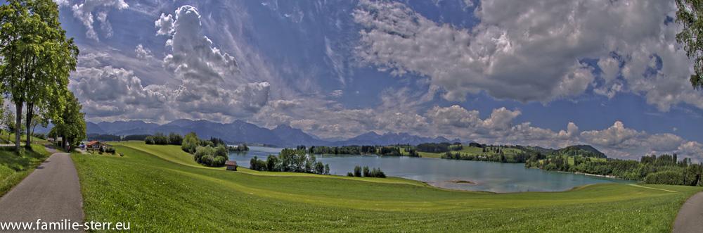 Forggensee - Nordufer