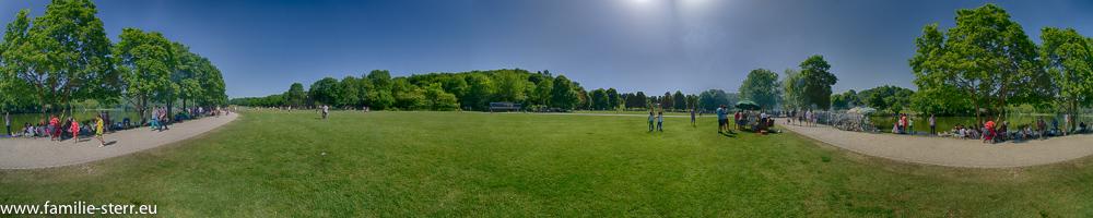 Westpark - Westteil Panorama