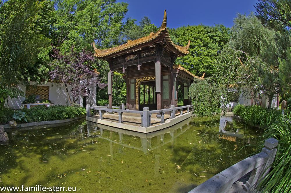 Pavillon des Sommers - chinesischer Garten - Westpark