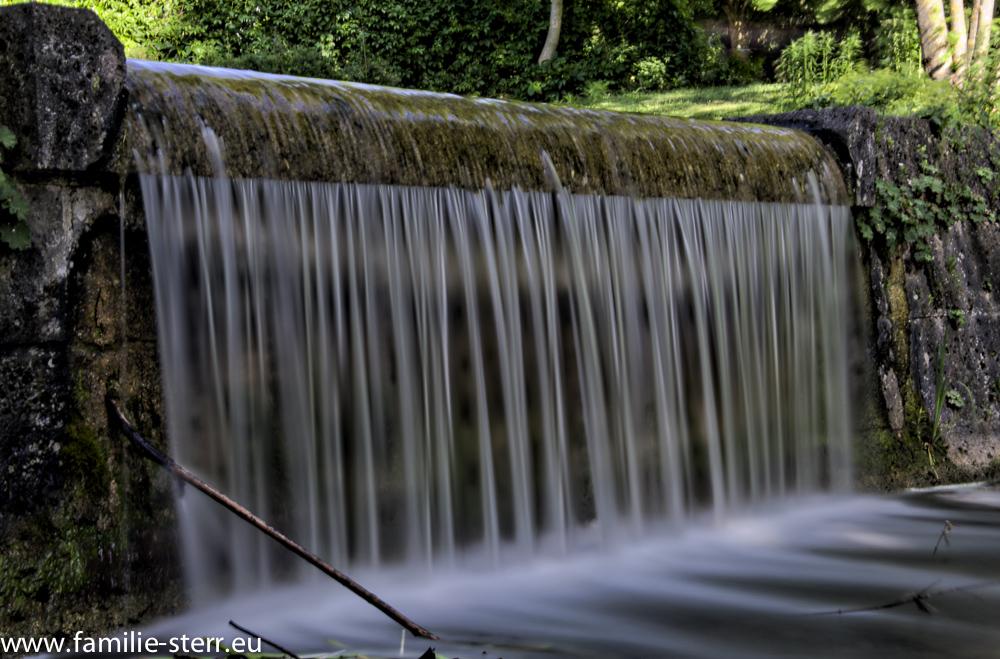 Wasserstufe im Westpark