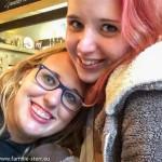 Selfie Melanie und Katharina