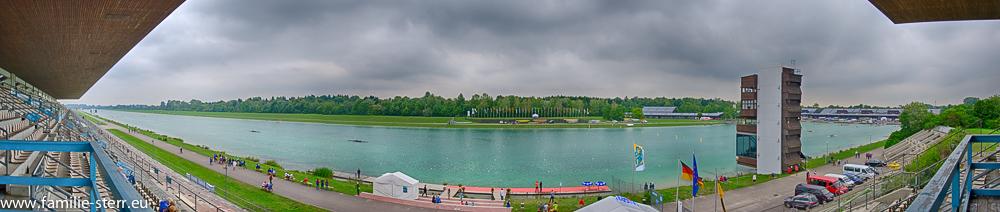 Olympia - Regattastrecke München Oberschleißheim - Panorama