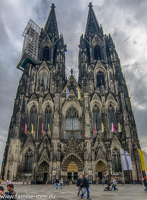 Kölner Dom - Außenansicht