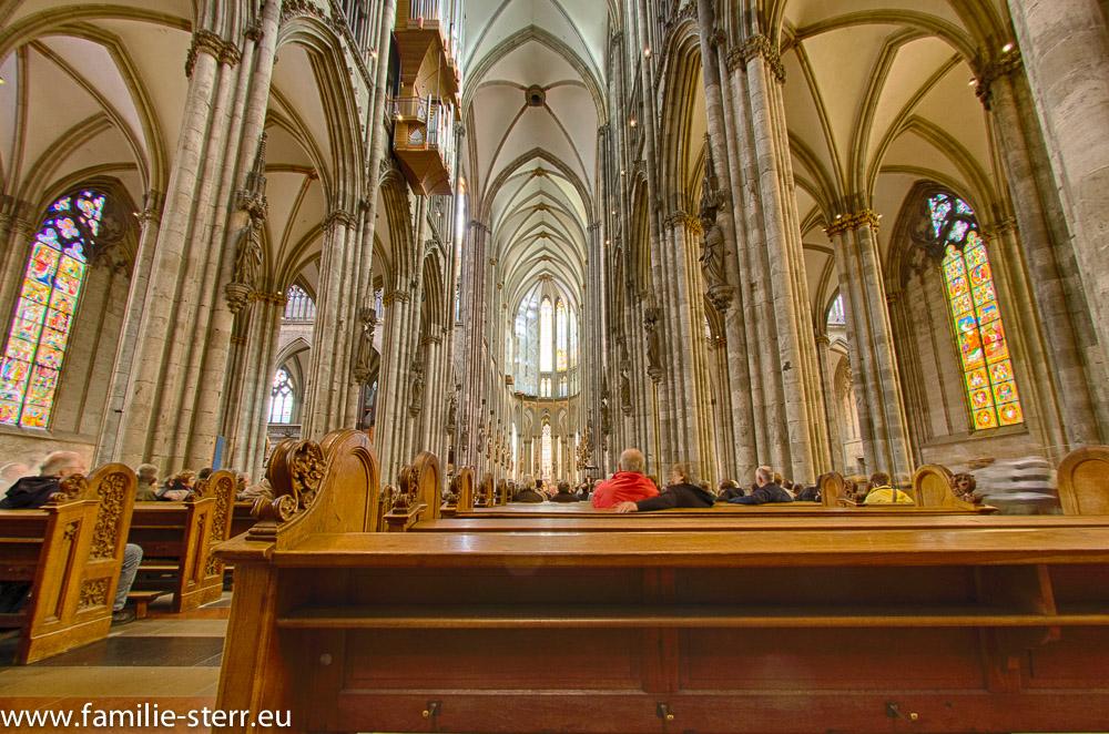 Kölner Dom - das Hauptschiff