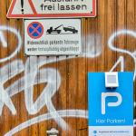Parken in Köln - interessante Beschilderung