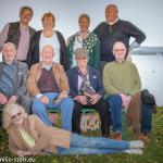 Hans- Freimuts 80. Geburtstag - Gruppenfoto auf Frauenchiemsee