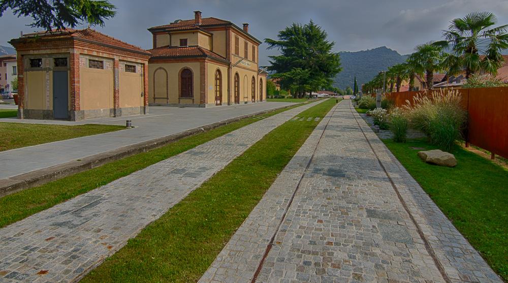 ehemaliger Bahnhof von Sarnico am Iseo - See
