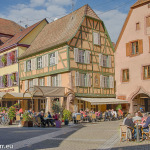 Ribeauville - Dorfplatz