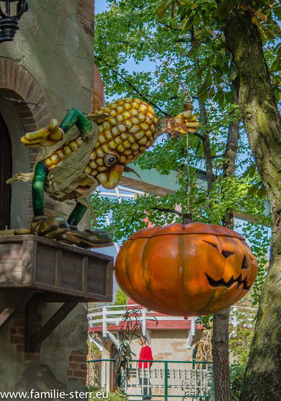 Europapark - Halloween-Deko