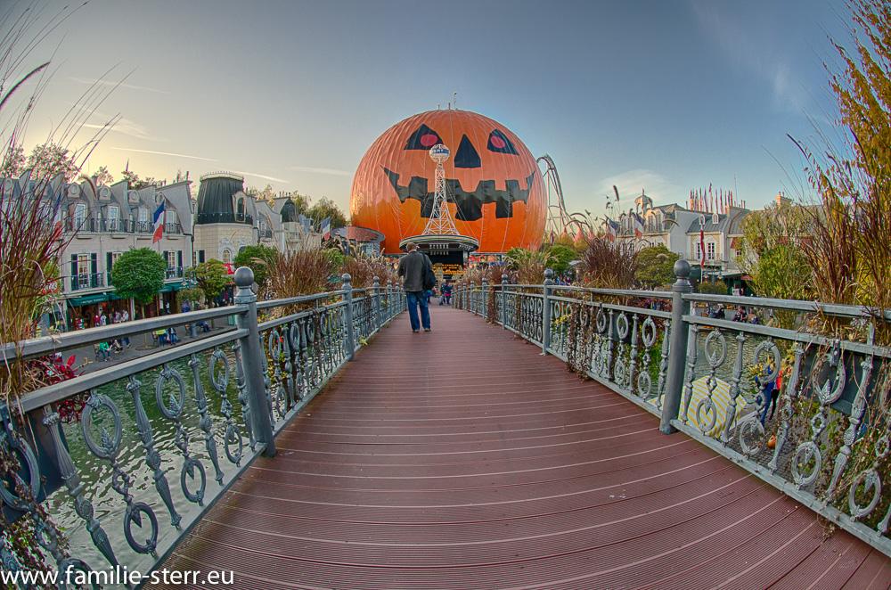Eurosat in Halloween - Pumpkin - Verkleidung