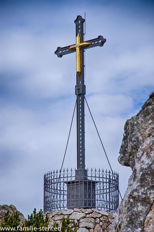 Gipfelkreuz am Hochfelln