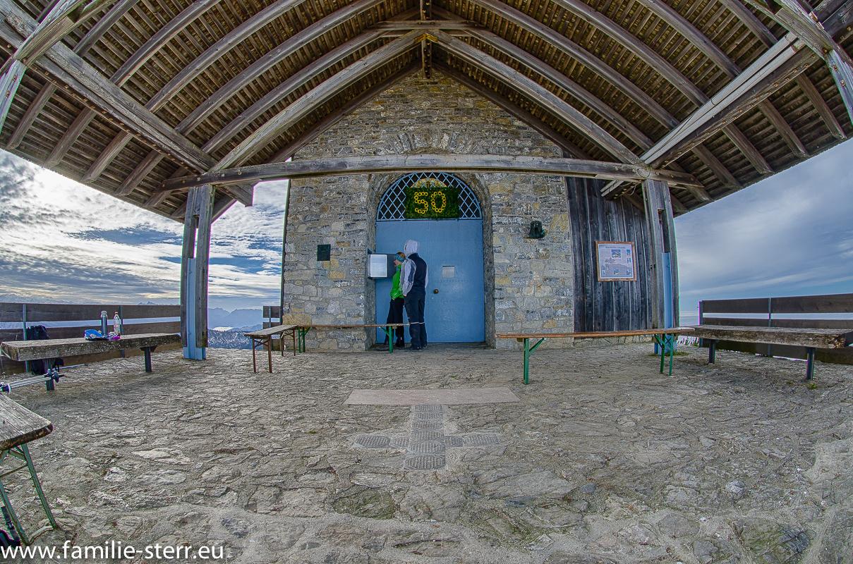 Kapelle am Hochfelln - Gipfel