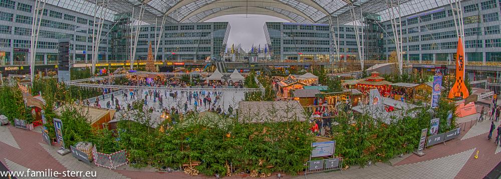 Wintermarkt 2014 im Airport Center am Flughafen München
