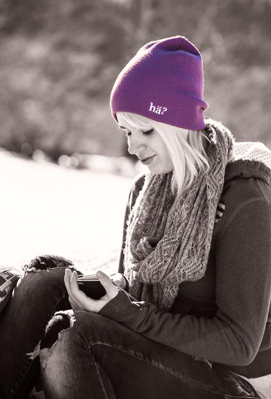 Melanie in Bayrischzell / Winter 2015