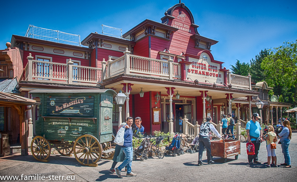 Silver Spur Steakhouse / Disneyland Paris
