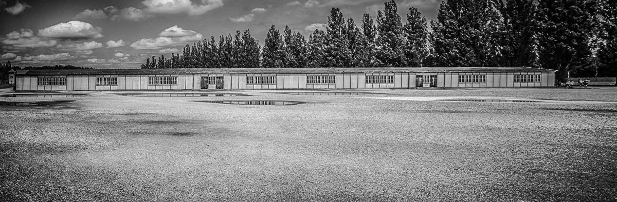 Baracke im KZ Dachau