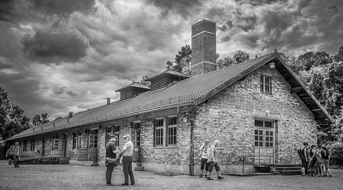 Gaskammer und Krematorium im KZ Dachau