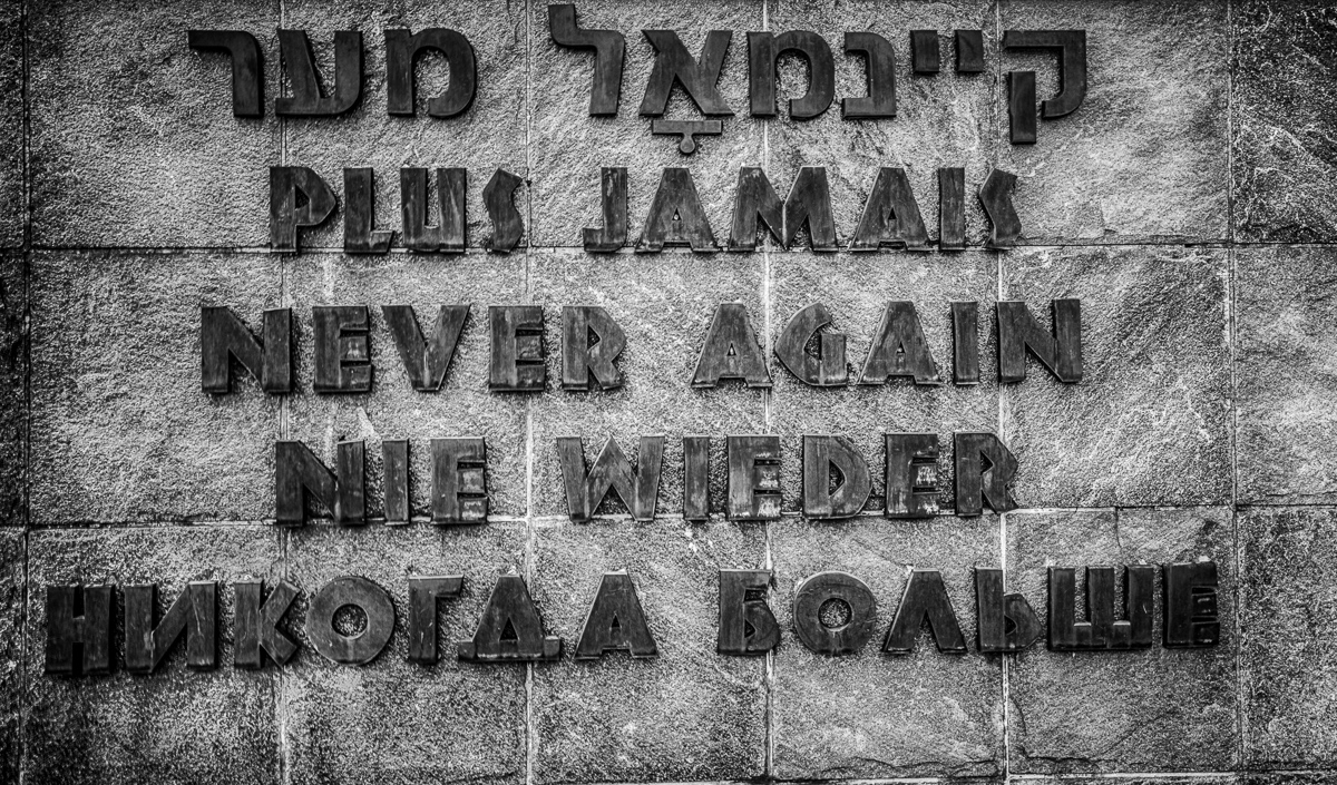 Dankmal im KZ Dachau