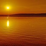 Sonnenaufgang am Paradies am Starnberger See