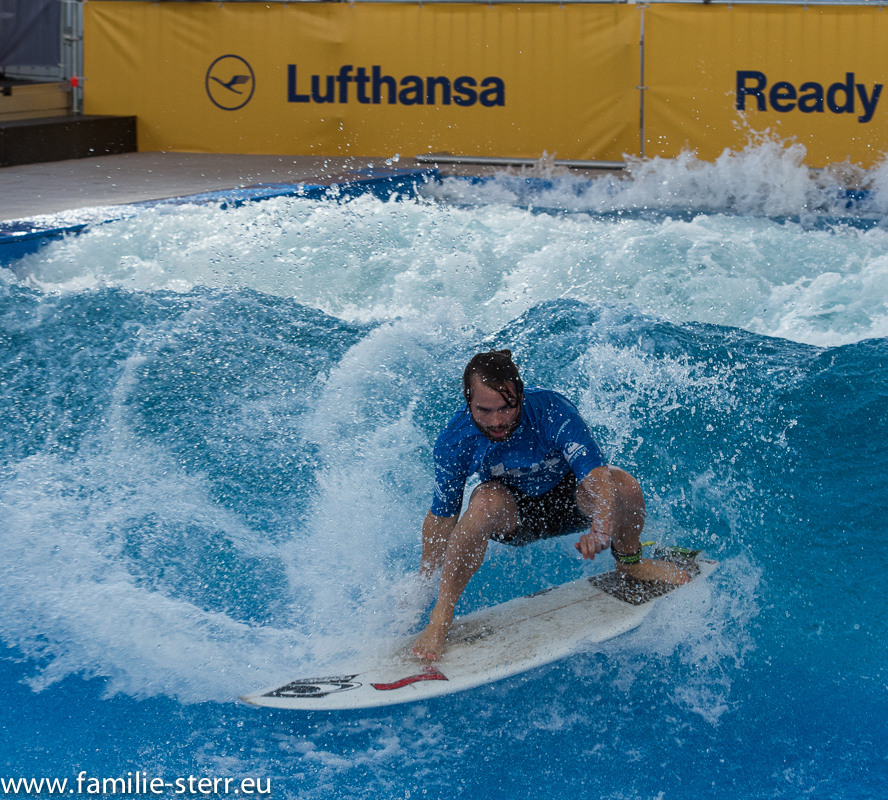 Surf and Style 2015 im Munich Airport Center - Training zur EM
