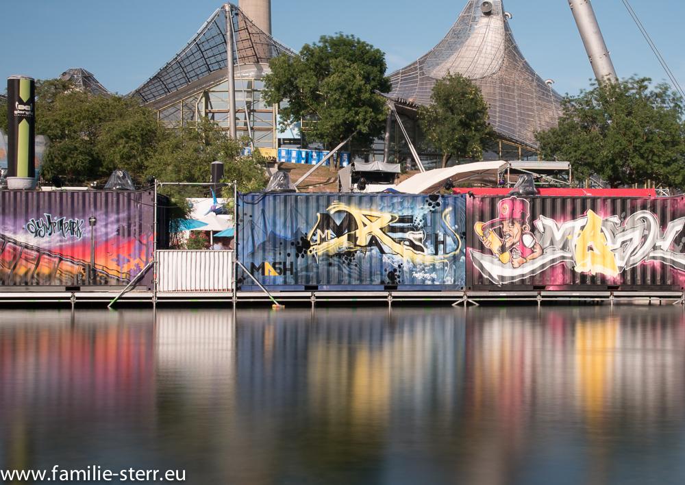Die Ahoi - Bar zum imPark Sommerfestival im Olympiasee