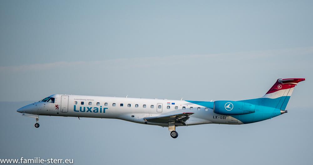 Luxair Embraer EMB 135 LX-LGI