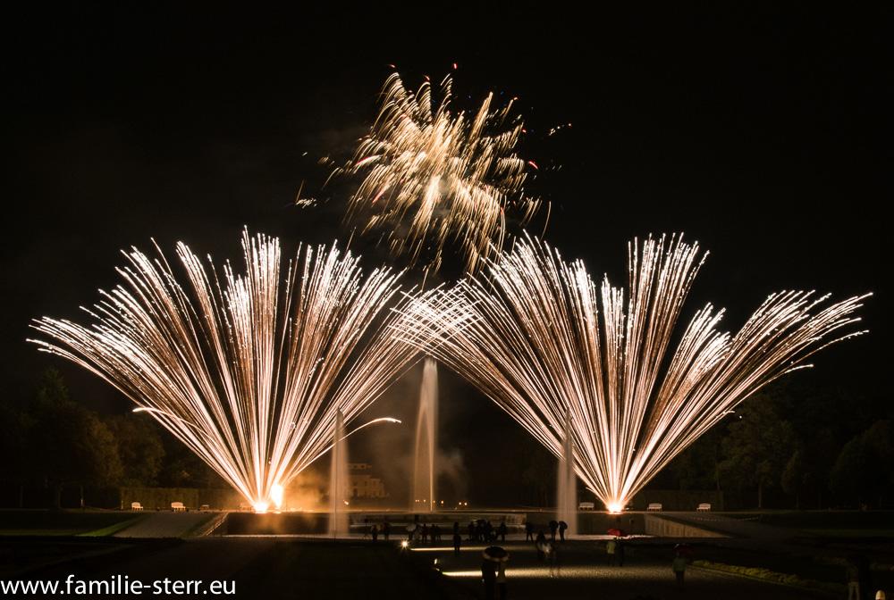 Feuerwerk im Schlosspark Schleißheim