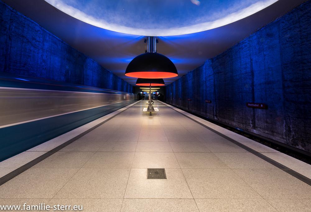 München - U-Bahn Station Westfriedhof (U1)