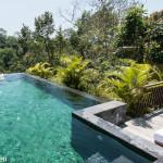 Selfie im Pool in Ubud