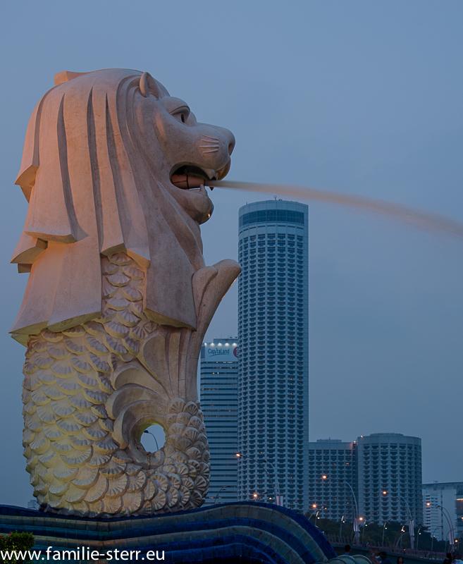 Merlion - das Wahrzeichen von Singapur
