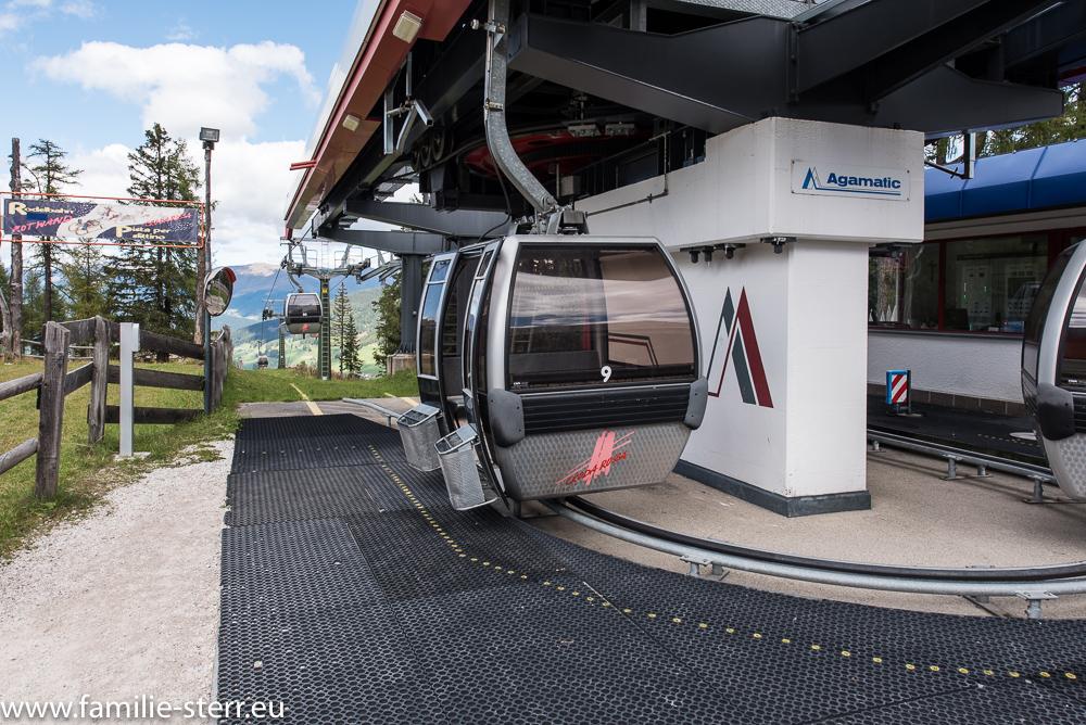 Kabinenbahn in Sexten / Südtirol