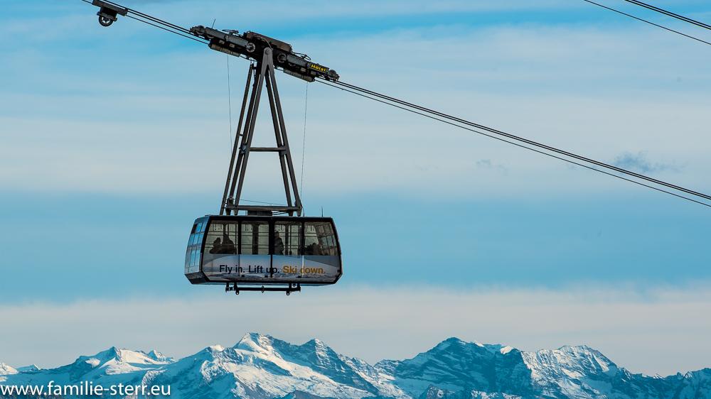 Gletscherseilbahn zum Zugspitzplatt