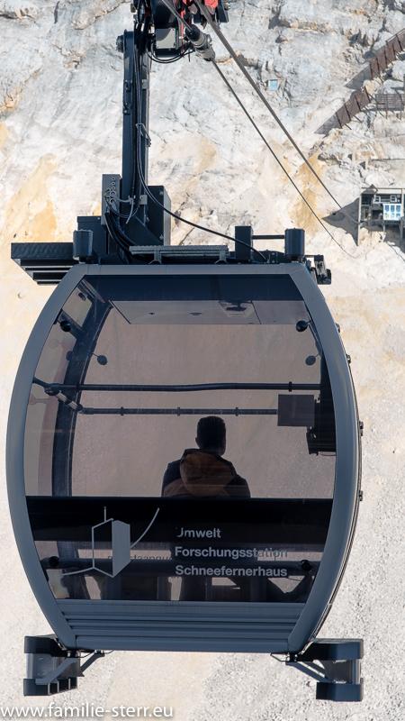Forschungsseilbahn zum Schneefernerhaus auf der Zugspitze