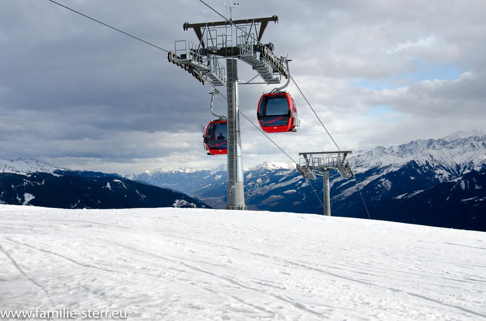 Kabinenbahn in Kitzbühel