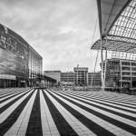 360 Grad Panorama vom Terminal 2 und Forum Munich Airport Center