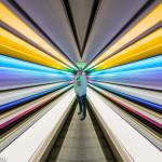 Katharina im Lightway im T1 am Flughafen München