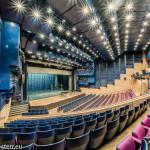Carl-Orff-Saal im Gasteig - Blick über den Zuschauerraum zur Bühne