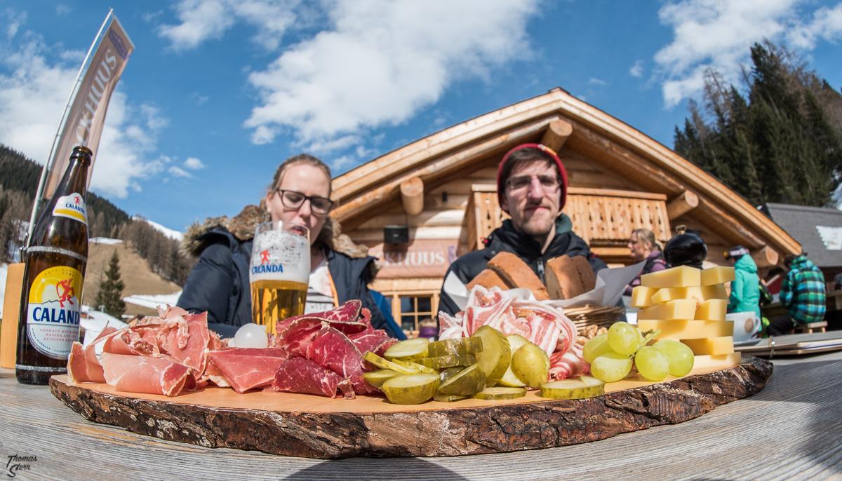Graubündner Teller ins Blockhuus am Rinerhorn