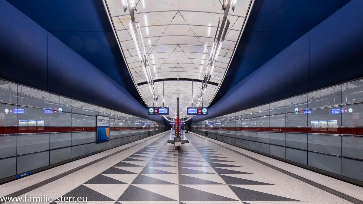 Bahnhof Hasenbergl / U2 / U-Bahn München