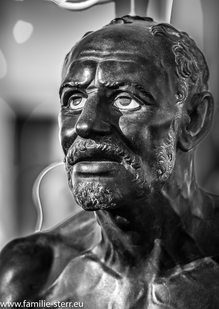 Statue im Museum für Abgüsse klassischer Bildwerke in München
