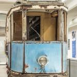 Uralte Straßenbahn im MVG - Museum