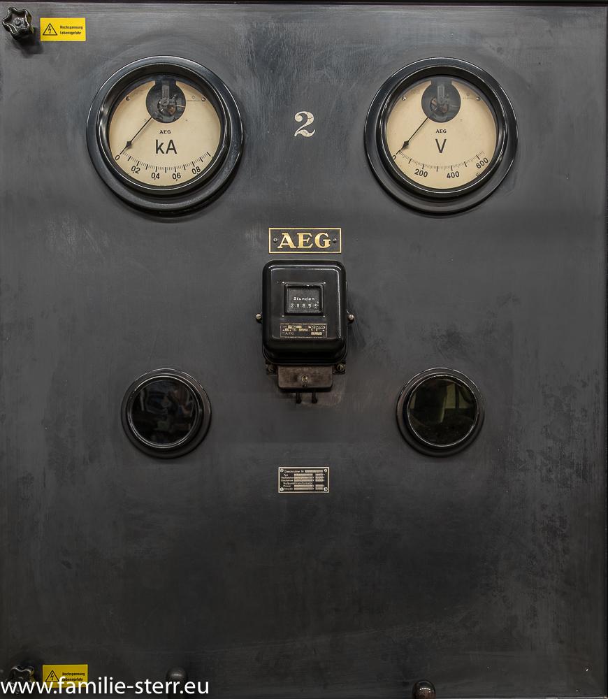 Straßenbahn - Schaltschrank aus dem MVG - Museum