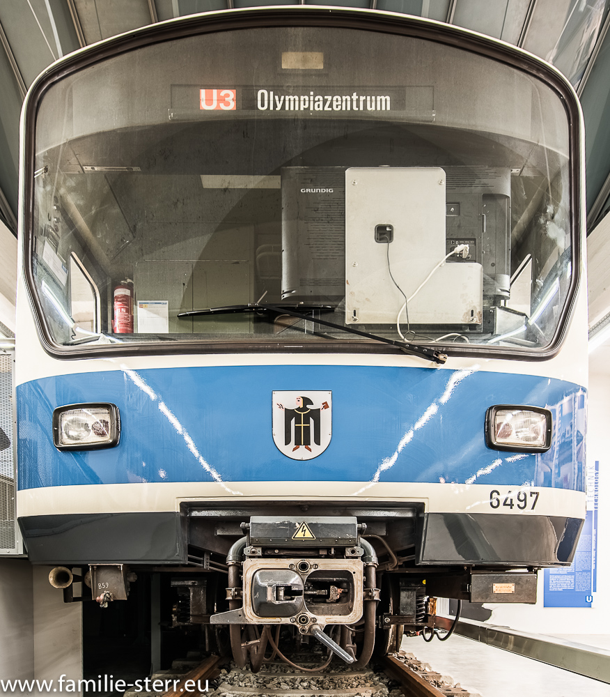U-Bahn Mock-Up im MVG Museum